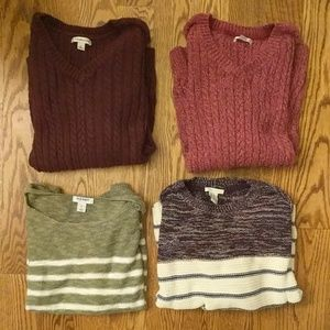 Winter Sweater Lot - 4 Smalls GAP, Old Navy, etc